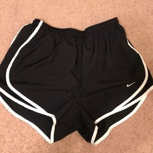 Nike black women's running shorts